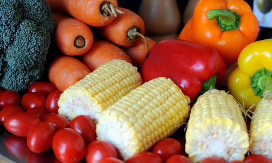 Vegetables: the healthy choice.