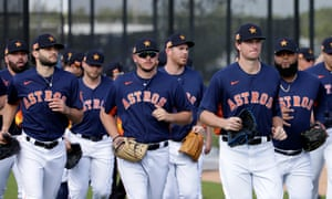 The Houston Astros are currently preparing for the new season