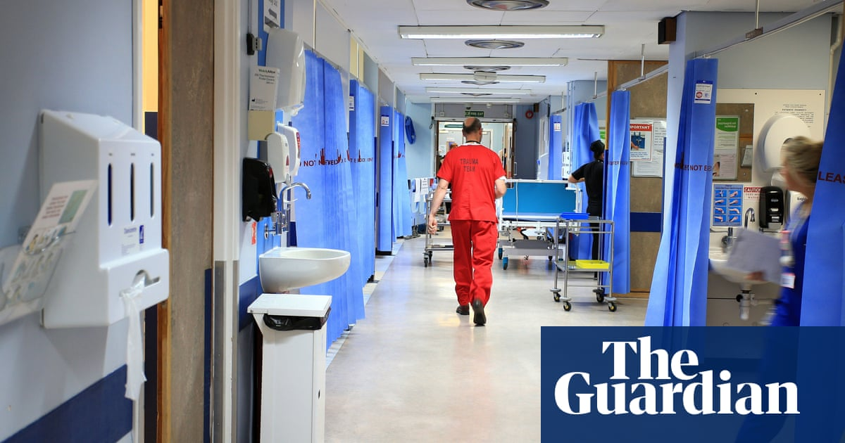 One in four NHS workers more likely to quit than a year ago, survey finds