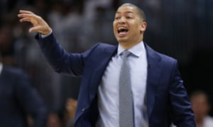 Tyronn Lue won the title with the Cavaliers in 2016
