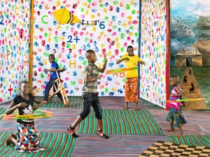 'I feel good about myself when I dance,' said Jacob, 15, who wants to become a professional one day. When he realised it was not safe for his family to remain in Burundi, he started performing routines in his local town to help fund their transport to Tanzania. Here Jacob dances in a child-friendly space in Nyarugusu camp that he now calls home.