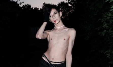 Drago Flowers, an LGBT activist.