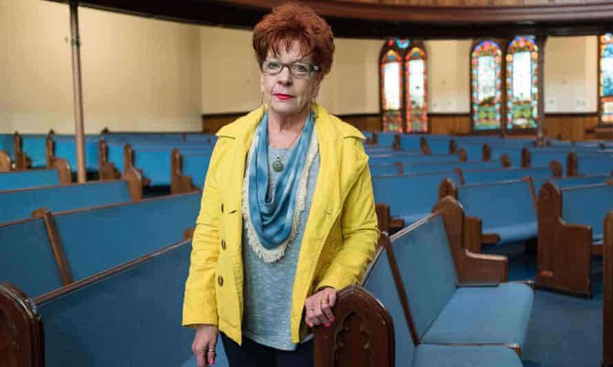 Penny Stringfield at her church.