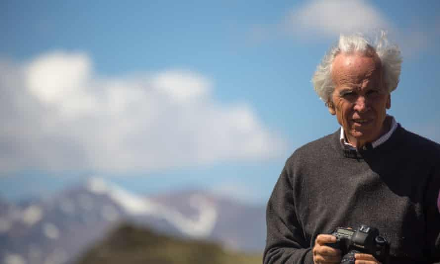 North Face co-founder Doug Tompkins in Patagonia National Park.