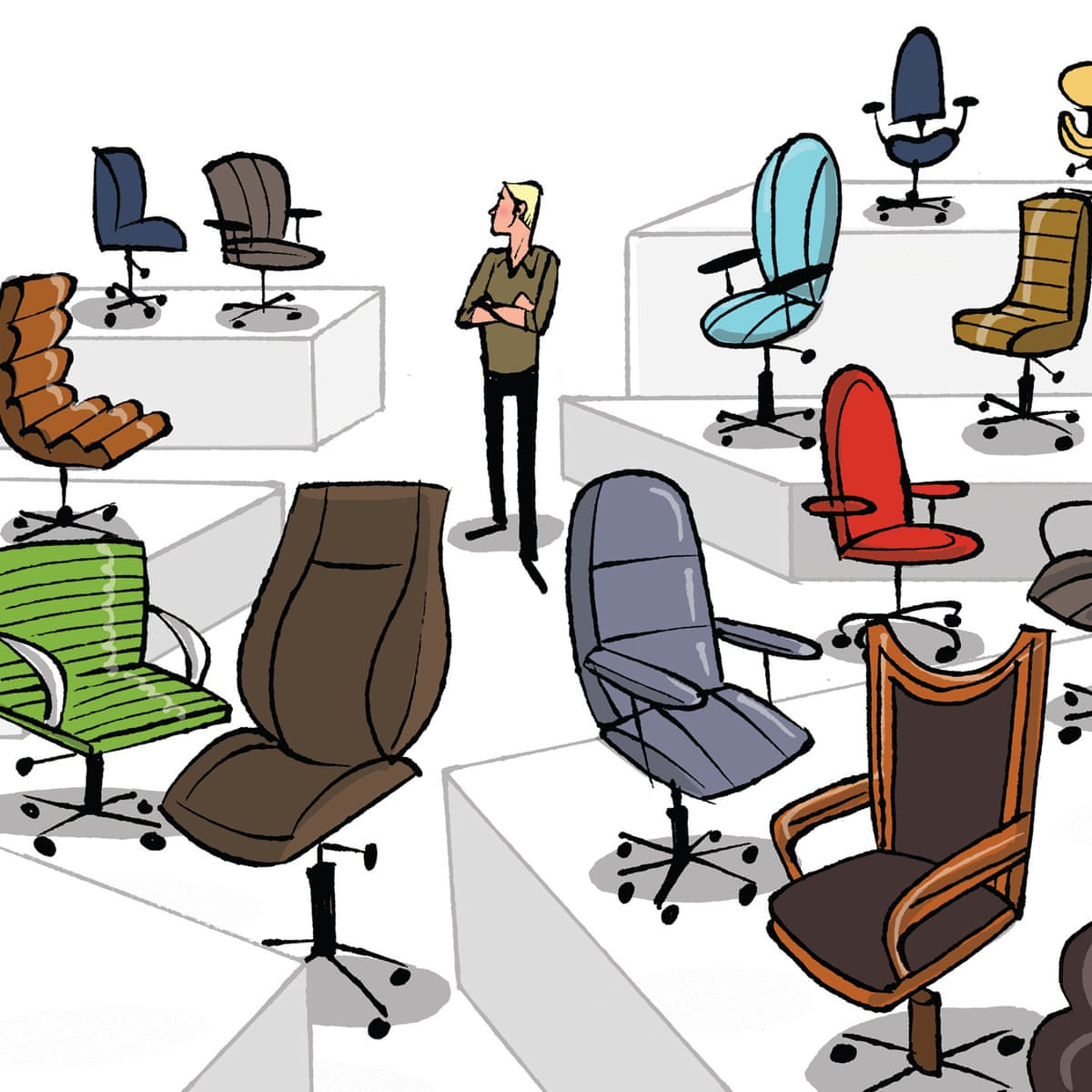 Where Can I Find A Good Desk Chair Without Spending A Fortune Money The Guardian