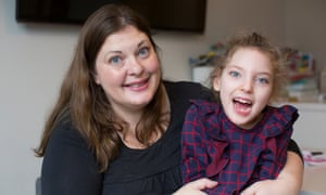 Jo Elgarf and her daughter, Nora … 'When it's your daughter's life that's at stake, 'it should be all right' isn't good enough.'
