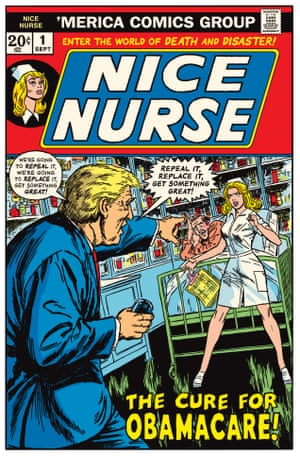 Winslow Mortimer cover for Night Nurse #3, Marvel Comics, March 1973