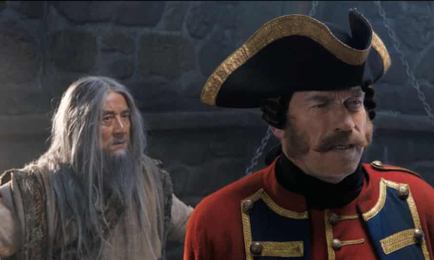 Diverting … Jackie Chan and Arnold Schwarzenegger in The Iron Mask.