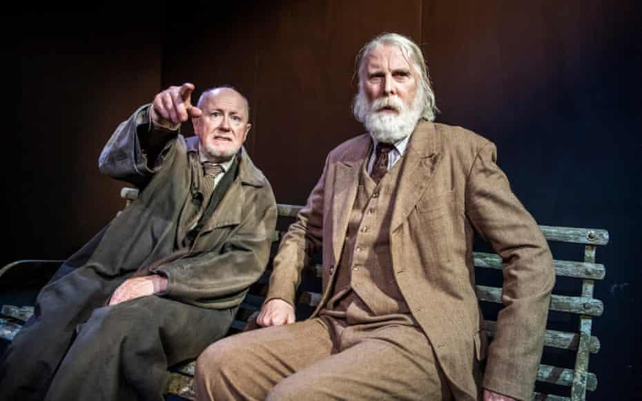 Niall Buggy and David Threlfall in The Old Tune by Samuel Beckett.