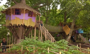 The Bewilderwood treehouses and rope bridges are to be recreated at a new site in the grounds of Cholmondeley Castle in Cheshire.