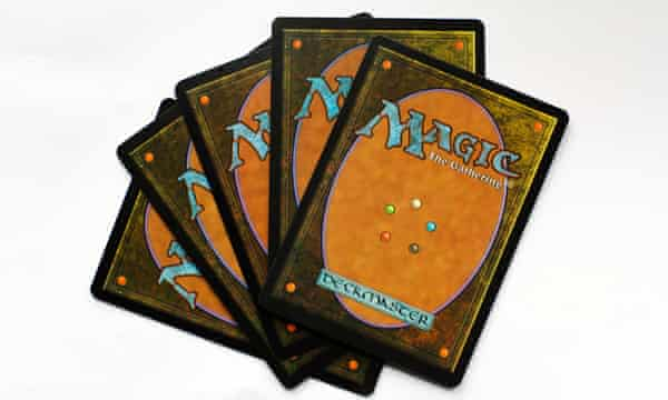 Magic, The Gathering cards.