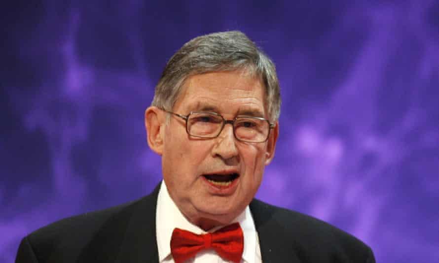 David Nobbs at the British Comedy Awards in 2005