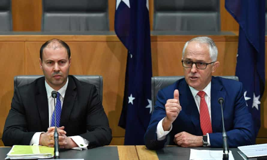 Josh Frydenberg and Malcolm Turnbull both attended a meeting with a small not-for-profit foundation that was offered $443.8m in funding without a tender.