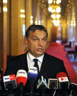 Hungarian Prime Minister Viktor Orban rules as a strongman.