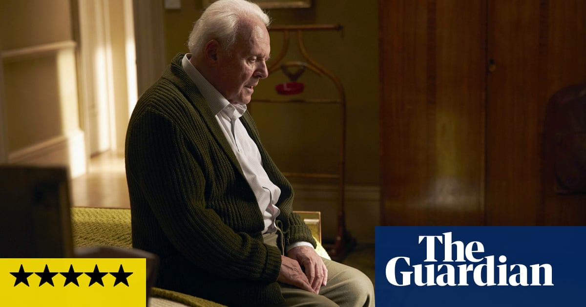 The Father review – Anthony Hopkins superb in unbearably heartbreaking film