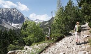 Mount Montanyo and Pic de Sudorn,Aigüestortes i Estany de Sant Maurici National Park