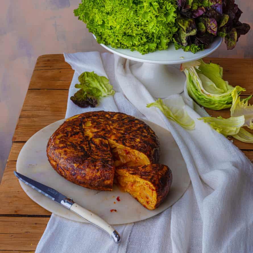 'Nduja tortilla by Florence Knight.