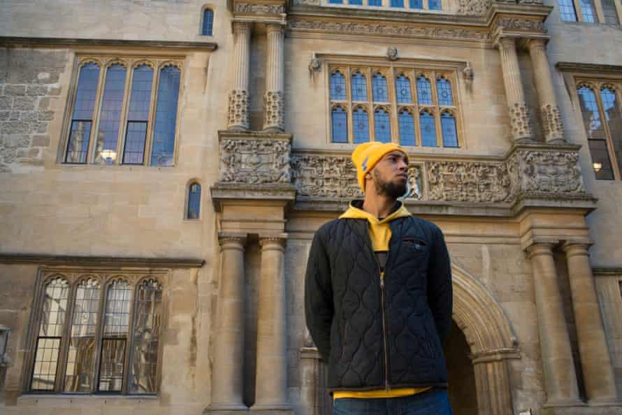 Disrupting mythology … one of the young Oxford rappers in Fantastic Cities.