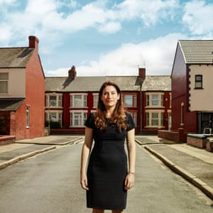 MP Luciana Berger was photographed in her Wavertree constituency in Liverpool