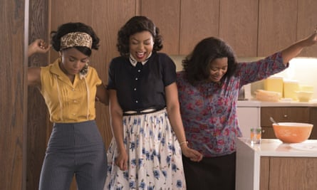 Taraji P Henson, Octavia Spencer and Janelle Monáe in the 'grand-hearted' Hidden Figures