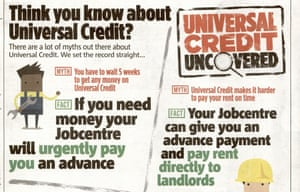 The 'universal credit uncovered' advertorial
