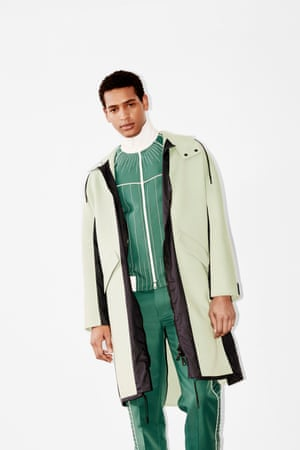 Track suits are going haute, with embroidery details and parkas for a 90s spin