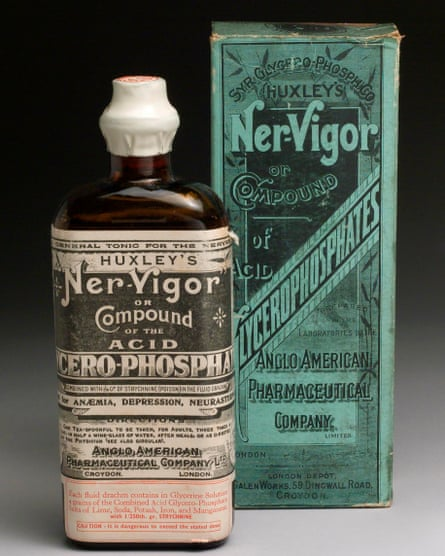 Bottle of Ner-Vigor, with instructions, in its original carton.