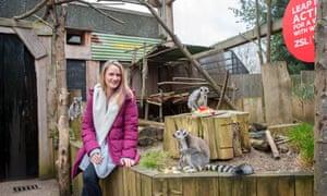 Carolyn Thompson at ZSL London Zoo