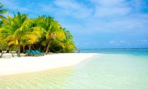 Belize's Caribbean coast'