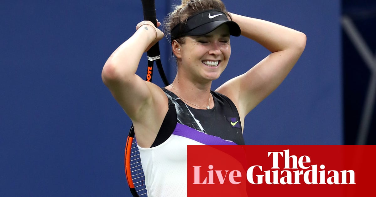 US Open 2019: Federer and Venus Williams in action, Konta delayed by rain – live!