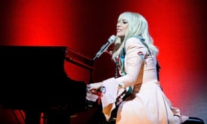 Lady Gaga performing at the Toronto film festival earlier this month.