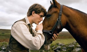 'Not as great as I wanted it to be' … Jeremy Irvine in Spielberg's version of War Horse.