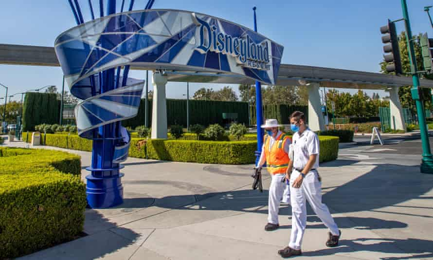 Disneyland Resort in Anaheim, California, will become a mass vaccine distribution site.