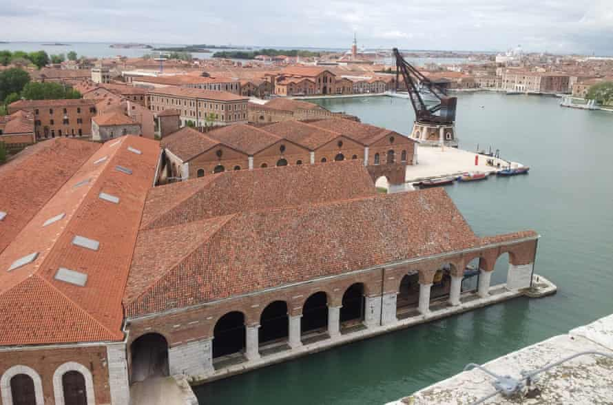 Venice's Arsenale … the Grafton architects have opened up previously closed routes.