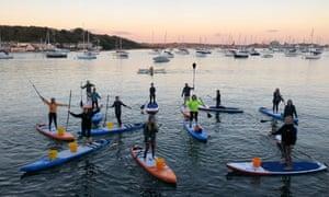 WeSUP: Paddleboarding