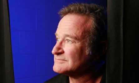 Robin Williams on tour in 2009.