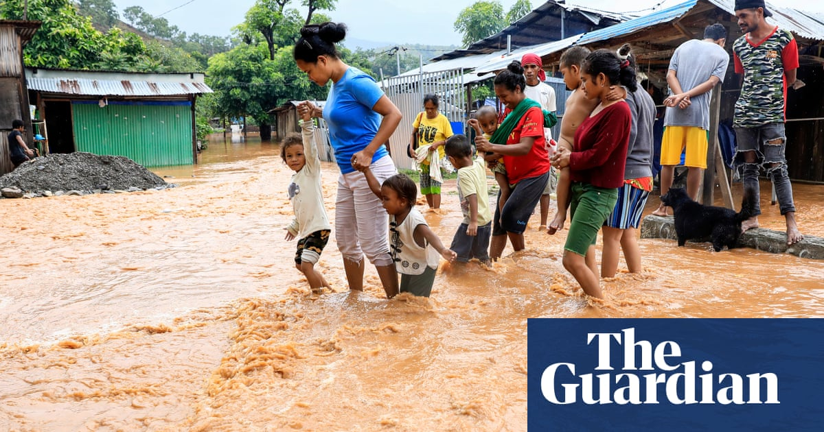 'When I woke, the house was full of water': daunting cleanup follows Timor-Leste floods
