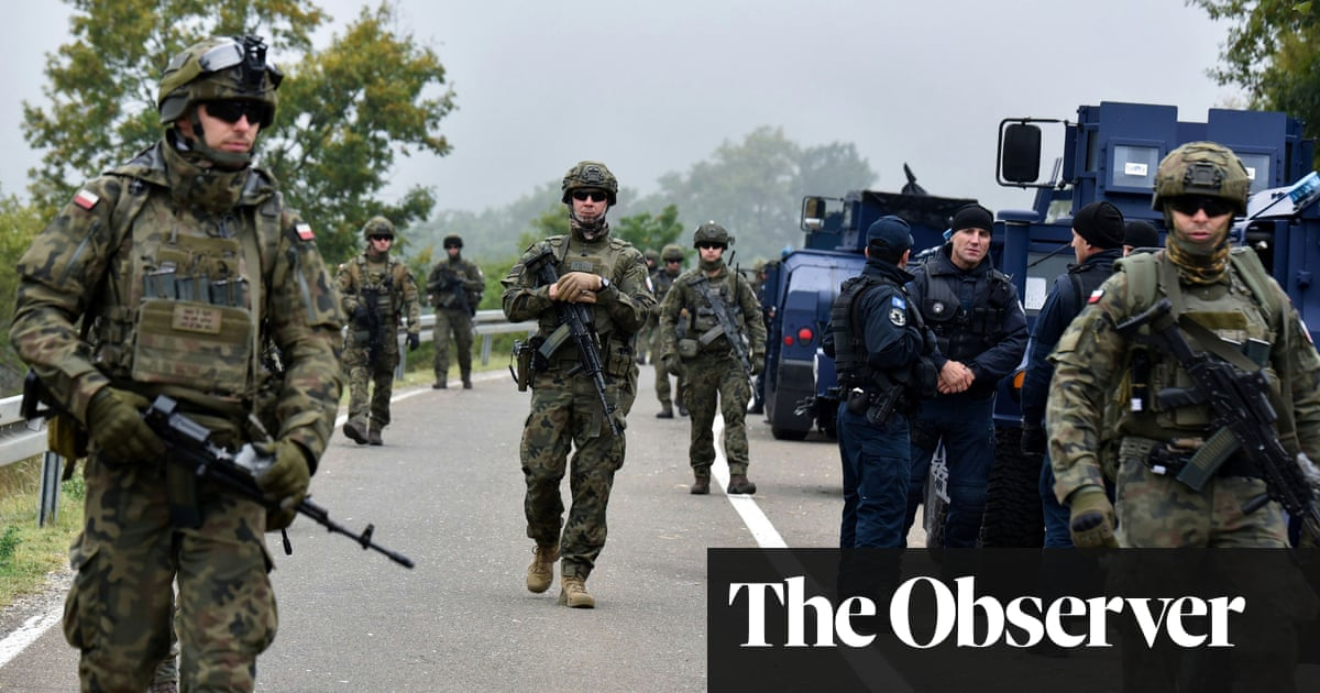 Tensions rise at Kosovo border as number plate row escalates
