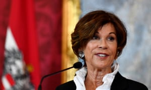 Brigitte Bierlein, the head of Austria's constitutional court, will lead the interim government until elections later this year.