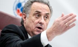 Russia's Deputy Prime Minister Vitaly Mutko