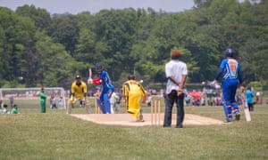 There are thriving amateur cricket leagues around America, mainly filled with immigrants from Commonwealth areas such as India, Australia, England and the West Indies