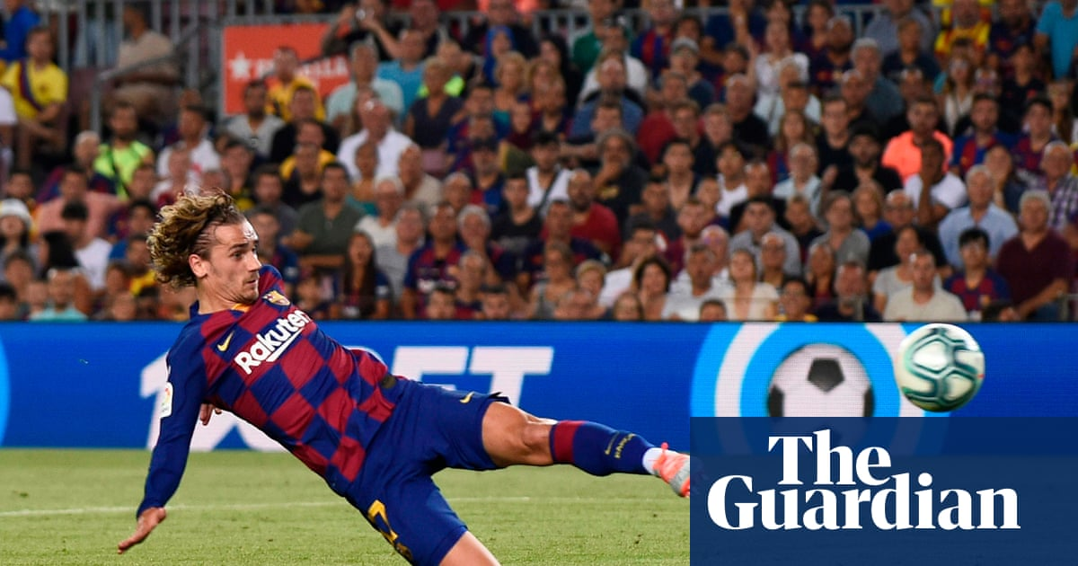 Griezmann nets double in Barcelona's comeback win over Real Betis