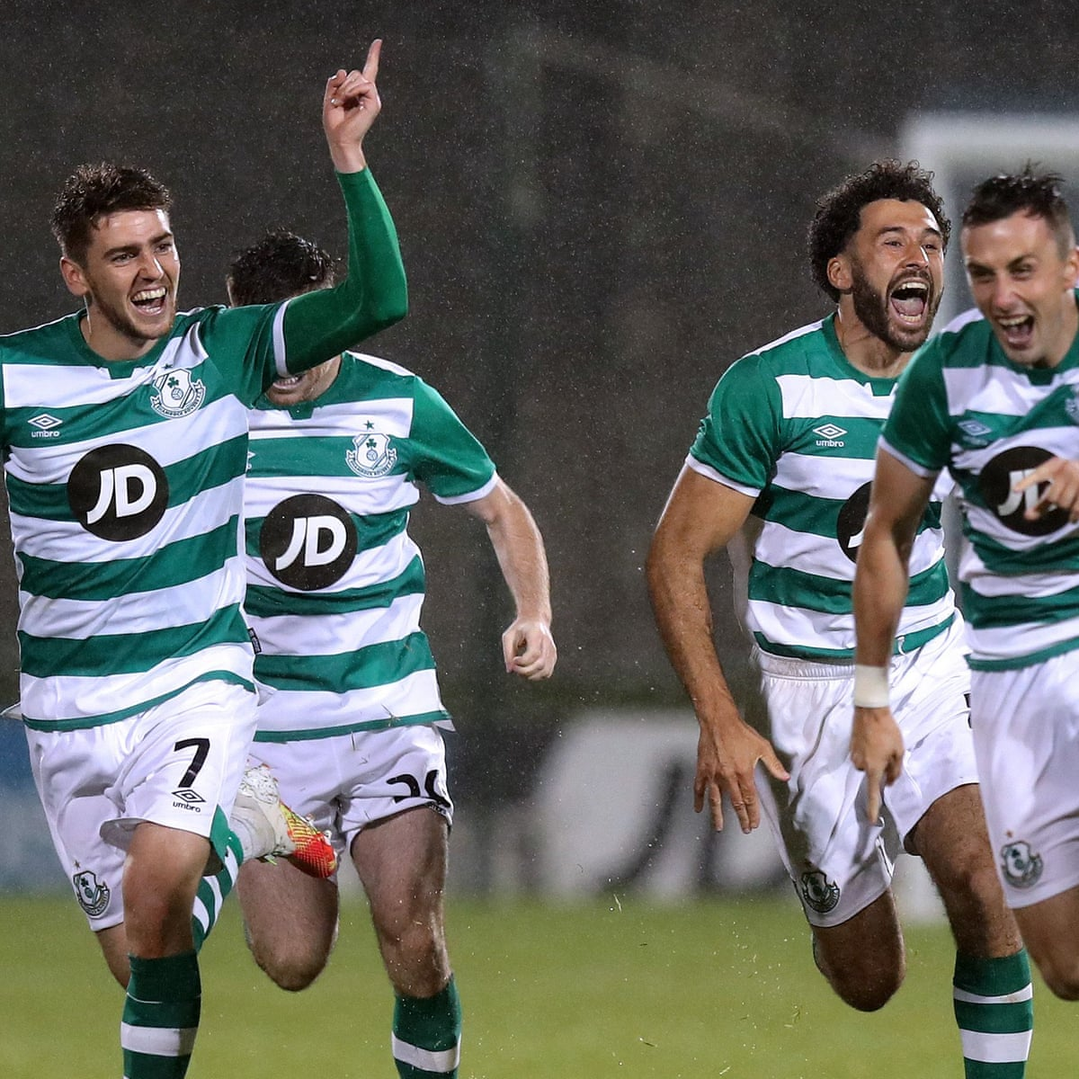 The Pressure Is On Milan Shamrock Rovers Prepare For Italian Giants Shamrock Rovers The Guardian