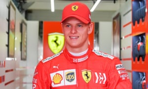 Mick Schumacher completed 56 laps for Ferrari in his first F1 outing and was one of only two drivers to put in a lap under 1min 30sec.
