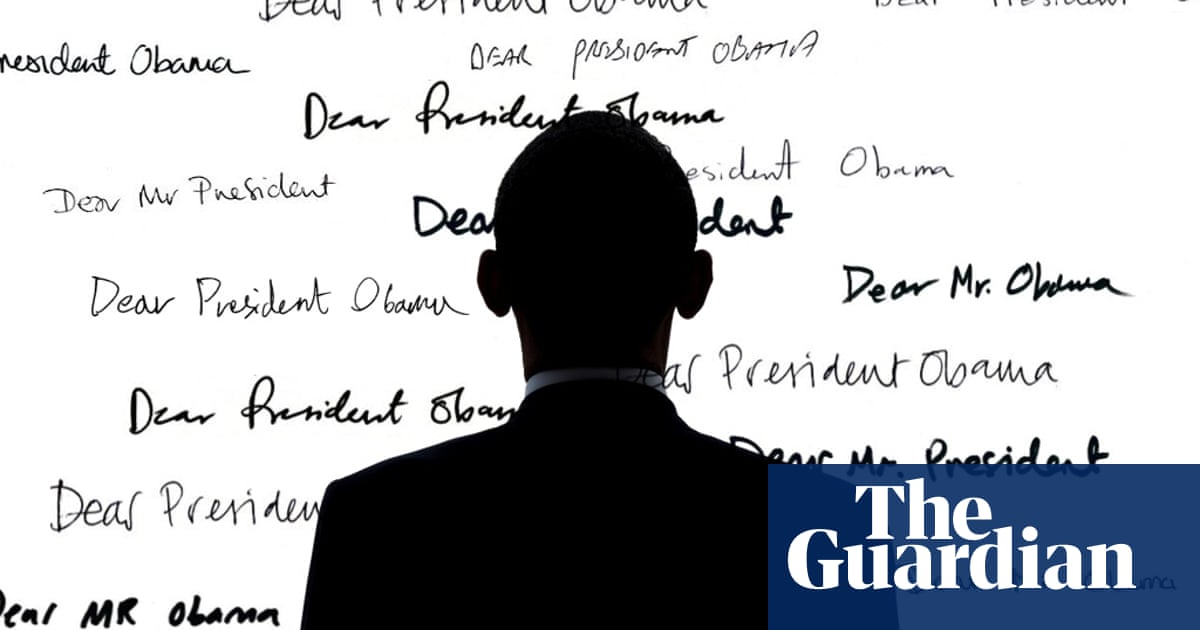 dear mr president obama on how letters from the american people shaped his time in office interview books the guardian