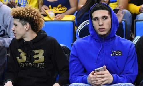 LiAngelo and LaMelo Ball sign pro contracts with Lithuanian