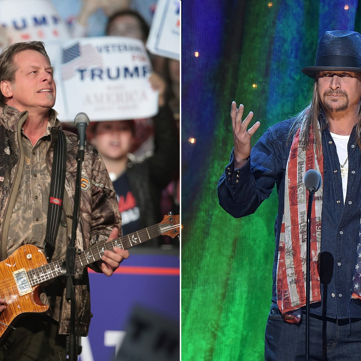 Kid Rock V Ted Nugent Who Has The Policies To Be Senator For