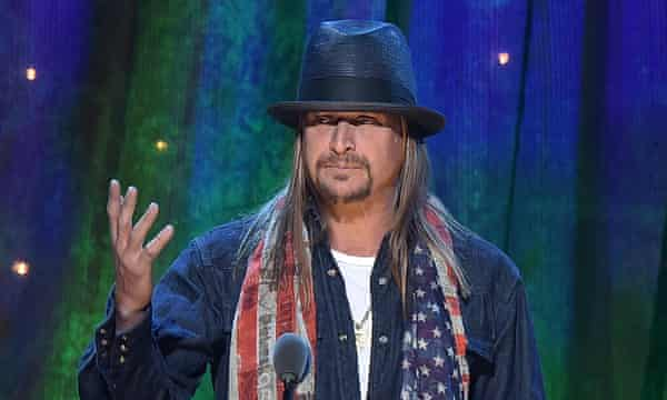 'I'm about as qualified for senate as he is, ie not at all' ... Kid Rock.