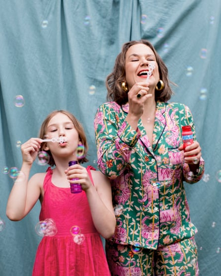Sophie Heawood and her daughter