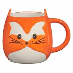 John Lewis fox mug